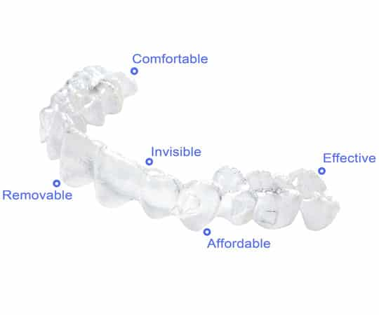 Say goodbye to traditional braces, Contact Bellevue Azalea Dentistry for Invisalign.