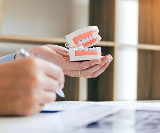 Contact Bellevue Azalea dentistry to get your custom made dentures.