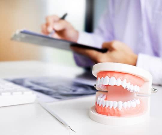 Tips from Bellevue Azalea Dentist when a denture breaks in half.